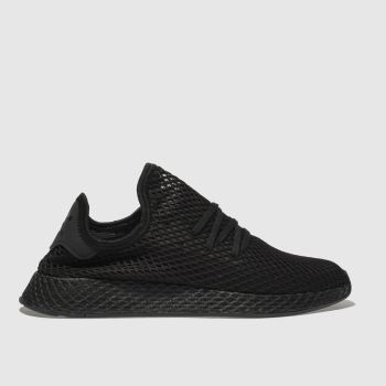 Adidas Black Deerupt Runner Mens Trainers