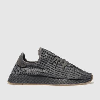 Adidas Dark Grey Deerupt Runner Mens Trainers