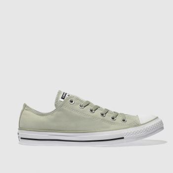Converse Khaki All Star Peach Canvas Ox Mens Trainers