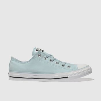 Converse Blue All Star Peach Canvas Ox Mens Trainers