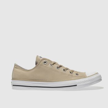 Converse Tan All Star Peach Canvas Ox Mens Trainers