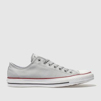 Converse Grey Chuck Taylor Peach Canvas Ox Mens Trainers