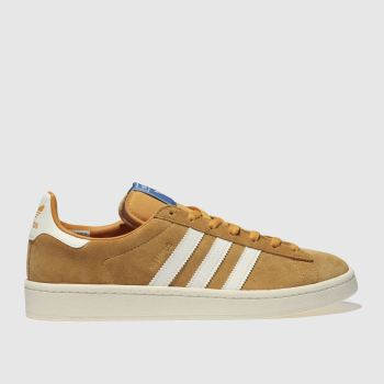 Adidas Yellow Campus Mens Trainers