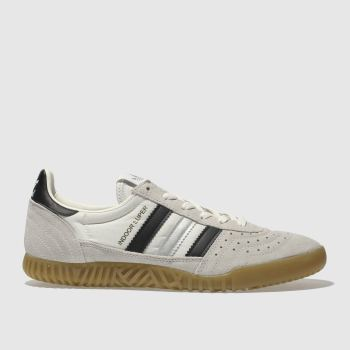 Adidas White Indoor Super Mens Trainers