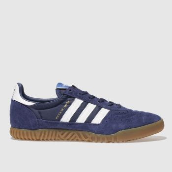 Adidas Navy Indoor Super Mens Trainers