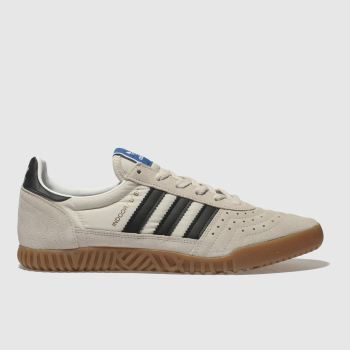 Adidas Beige Indoor Super Mens Trainers