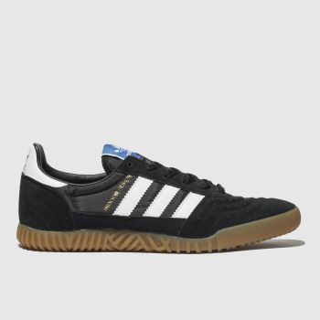Adidas Black & White Indoor Super Mens Trainers