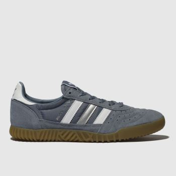 Adidas Grey Indoor Super Mens Trainers
