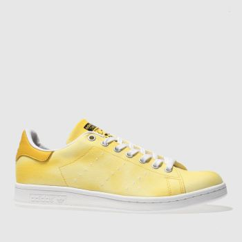 Adidas Yellow Stan Smith Pharrell Hu Holi Mens Trainers