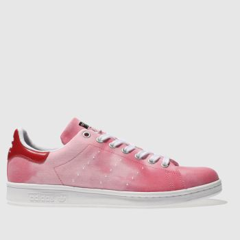 Adidas Red Stan Smith Pharrell Hu Holi Mens Trainers
