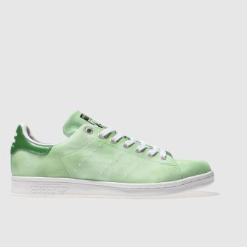 Adidas Green Stan Smith Pharrell Hu Holi Mens Trainers