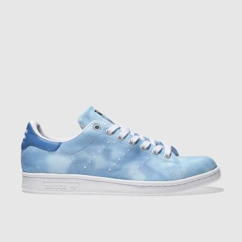 Adidas Blue Stan Smith Pharrell Hu Holi Mens Trainers