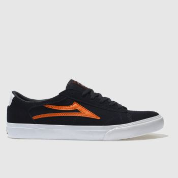 HERREN LAKAI MARINEBLAU-ORANGE ELLIS SNEAKER