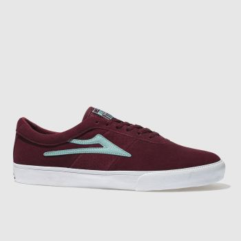 LAKAI BURGUNDY SHEFFIELD TRAINERS