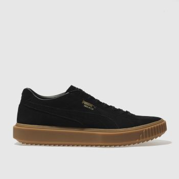Puma Black Breaker Mens Trainers