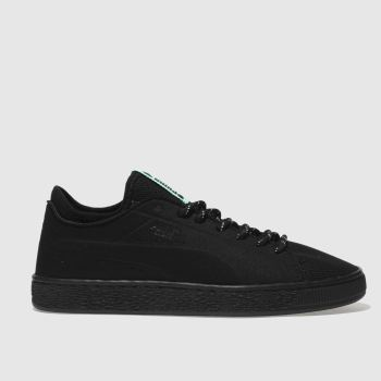 Puma Black Basket Sock Lo Mens Trainers