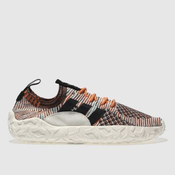 Adidas Orange & Black Atric F/22 Primeknit Mens Trainers