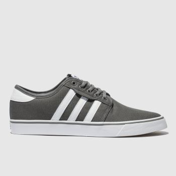 Adidas Skateboarding Grey Seeley Mens Trainers