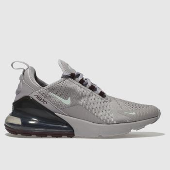 Nike Light Grey Air Max 270 Mens Trainers