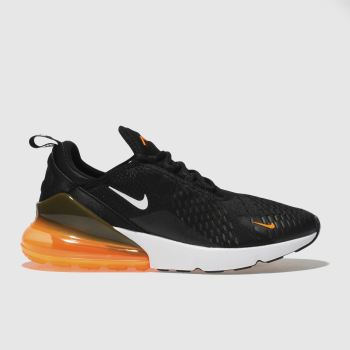 Nike Black & Orange Air Max 270 Jdi Mens Trainers