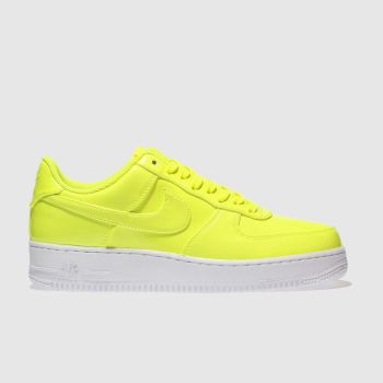 Nike Yellow Air Force 1 07 Lv8 Uv Mens Trainers