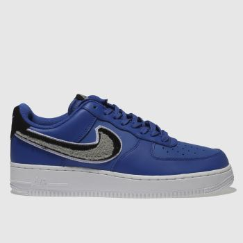 Nike Blue Air Force 1 07 Lv8 Mens Trainers