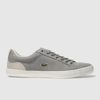 Lacoste Grey Lerond 218 Mens Trainers