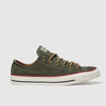 CONVERSE KHAKI ALL STAR EARTHY BUCK OX TRAINERS