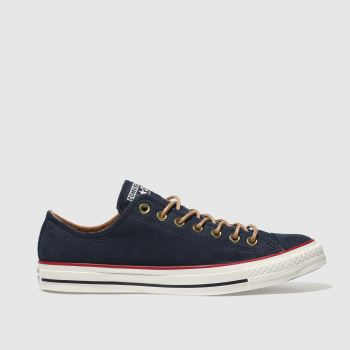 Converse Navy All Star Earthy Buck Ox Mens Trainers