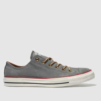 Converse Grey All Star Earthy Buck Ox Mens Trainers 091ddd321