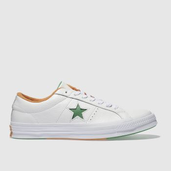 Converse White One Star Ox Mens Trainers