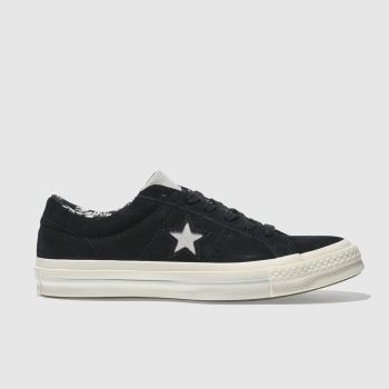 Converse Black One Star Ox Mens Trainers