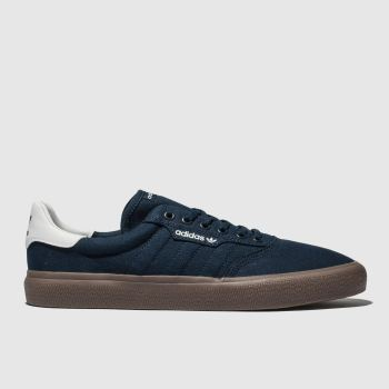 Adidas Skateboarding Navy 3Mc Mens Trainers