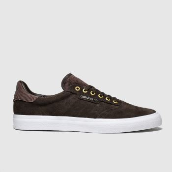 Adidas Skateboarding Brown 3mc Mens Trainers