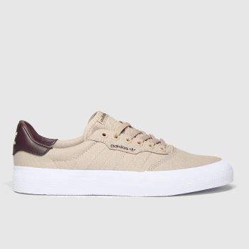 adidas Skateboarding Beige 3mc Mens Trainers