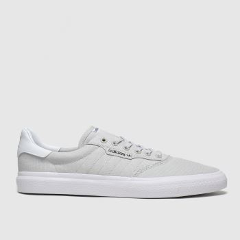 adidas Skateboarding Light Grey 3mc Mens Trainers