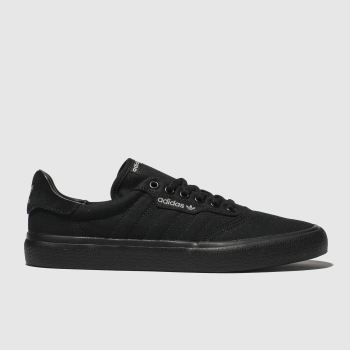 Adidas Skateboarding Black 3mc Mens Trainers