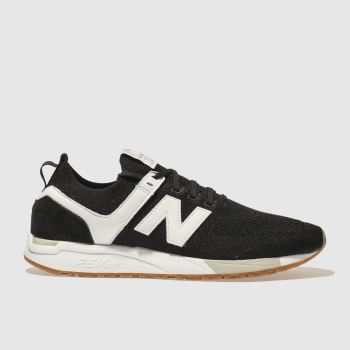 New Balance Black 247 Mens Trainers