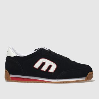 Etnies Navy & Red Lo-Cut Ii Ls Mens Trainers