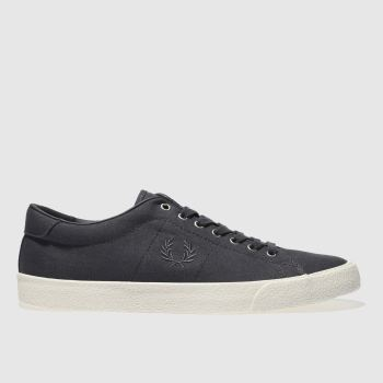 Fred Perry Navy Underspin Mens Trainers