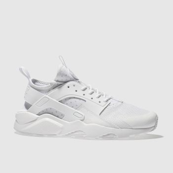Nike White AIR HUARACHE RUN ULTRA Trainers