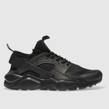 Nike Black Air Huarache Run Ultra Mens Trainers