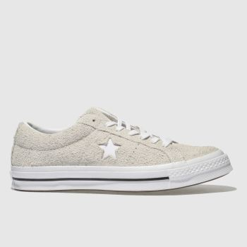 Converse White One Star Ox Vintage Suede Mens Trainers
