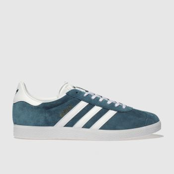 Adidas Turquoise Gazelle Mens Trainers