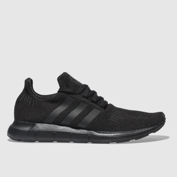Adidas Black Swift Run c2namevalue::Mens Trainers