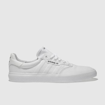 Adidas Skateboarding White 3MC Trainers