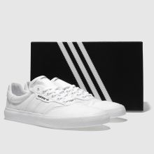 f3bd1bd5110cf9 mens white adidas skateboarding 3mc trainers