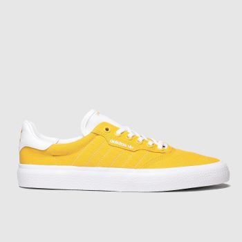 adidas skateboarding yellow 3mc trainers