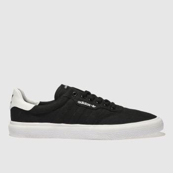 quality design f7142 7a33f Adidas Skateboarding Black 3Mc Mens Trainers
