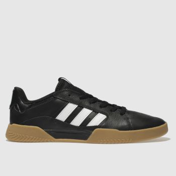Adidas Skateboarding Black & White Vrx Low Mens Trainers